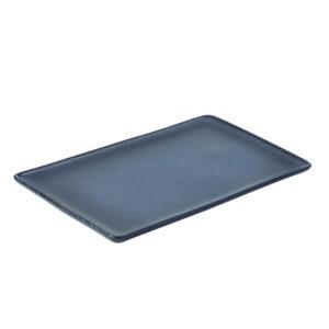 Aida Raw Midnight Blue - Rektangulær Tallerken 31,5 cm
