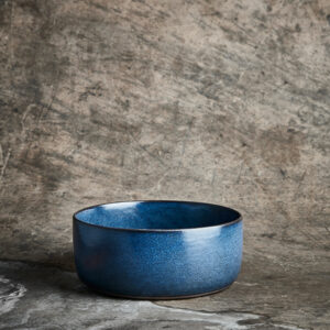 Aida RAW Midnight blue - Skål høj 19,5 cm